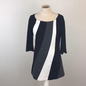 White House Black Market Colorblocked Dress